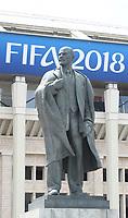 Statue von Lenin am Luzhniki Stadion - 14.06.2018: Russland vs. Saudi Arabien, Eröffnungsspiel der WM2018, Luzhniki Stadium Moskau
