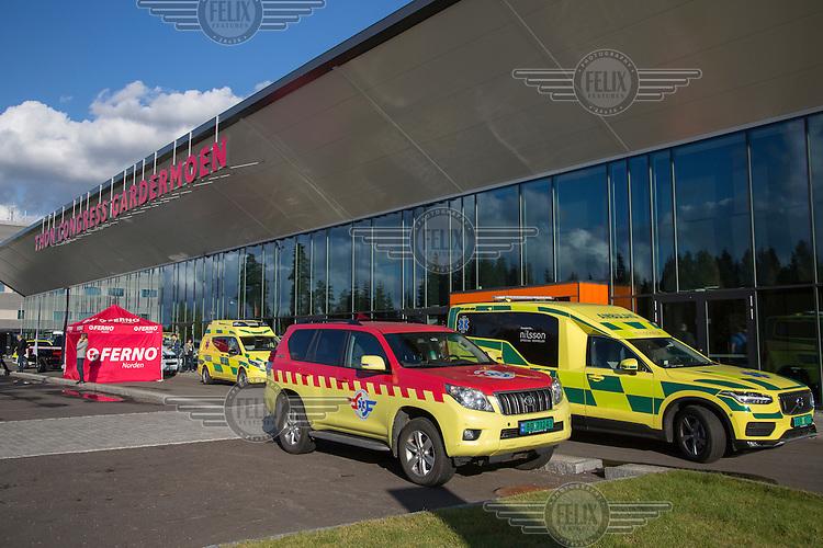Ambulanseforum 2016<br /> <br /> &copy;Fredrik Naumann/Felix Features
