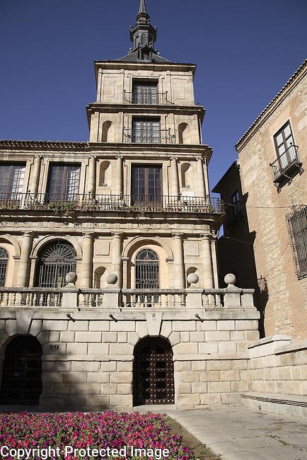 City Hall - Ayuntamiento; Toledo; Spain