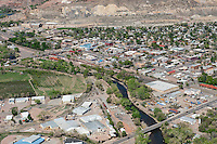 Aerial of Canon City, Colorado. April 2012