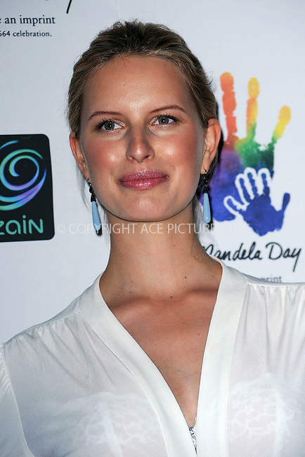WWW.ACEPIXS.COM . . . . . ....July 15 2009, New York City....Model Karolina Kurkova at the Mandela Day Gala Dinner hosted by 46664 and the Nelson Mandela Foundation at Grand Central Terminal on July 15, 2009 in New York City.....Please byline: KRISTIN CALLAHAN - ACEPIXS.COM.. . . . . . ..Ace Pictures, Inc:  ..tel: (212) 243 8787 or (646) 769 0430..e-mail: info@acepixs.com..web: http://www.acepixs.com