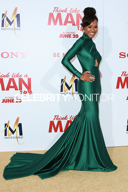 HOLLYWOOD, LOS ANGELES, CA, USA - JUNE 09: Brenda Vivian at the Los Angeles Premiere Of Screen Gems' 'Think Like A Man Too' held at the TCL Chinese Theatre on June 9, 2014 in Hollywood, Los Angeles, California, United States. (Photo by David Acosta/Celebrity Monitor)