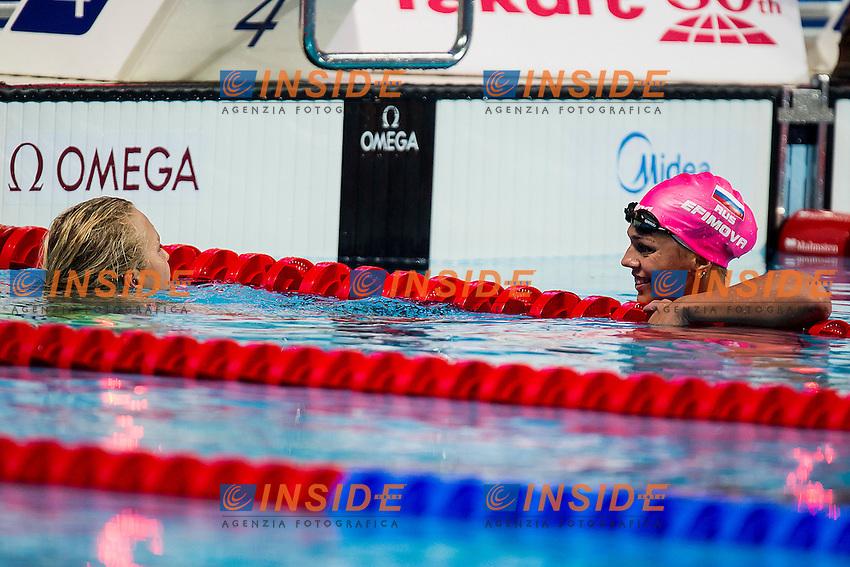 EFIMOVA Yuliya RUS<br /> 100 Breaststroke Women Final Gold Medal<br /> Swimming - Kazan Arena<br /> Day12 04/08/2015<br /> XVI FINA World Championships Aquatics Swimming<br /> Kazan Tatarstan RUS July 24 - Aug. 9 2015 <br /> Photo A.Masini/Deepbluemedia/Insidefoto