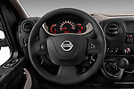 Car pictures of steering wheel view of a 2016 Nissan NV400-Combi l1h1-Optima 5 Door Passenger Van Steering Wheel