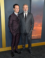 "LOS ANGELES, USA. December 19, 2019: Andrew Scott & Sam Mendes at the premiere of ""1917"" at the TCL Chinese Theatre.<br /> Picture: Paul Smith/Featureflash"
