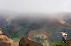 A family views Waimea Canyon from a lookout on the island of Kauai, Hawaii. Photo by Kevin J. Miyazaki/Redux
