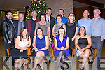 NIGHT OUT: Members of Borg Warner and Bru Sytems Tralee held their christmas party in the Carlton Hotel, Tralee on Saturday night. FRont l-r: Stacey O'Brien, Lisa O'Sullivan, Ann Marie Kenny and Bernie Breen. Back l-r: John Lehihan, Louis Heaphy, Tom Costelloe, Mary Roche, Jeremiah Moriarty, Anita Costelloe, David Moriarty, Margaret Hartmann, Tom King and Paul Sugrue.