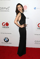 Los Angeles, CA - NOVEMBER 05: Lily Collins at The 10th Annual GO Campaign Gala in Los Angeles At Manuela, California on November 05, 2016. Credit: Faye Sadou/MediaPunch