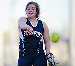 Selected images from St. Martin's girl's softball vs. Country Day. St. Martin's went on to win by a score of 11-1.