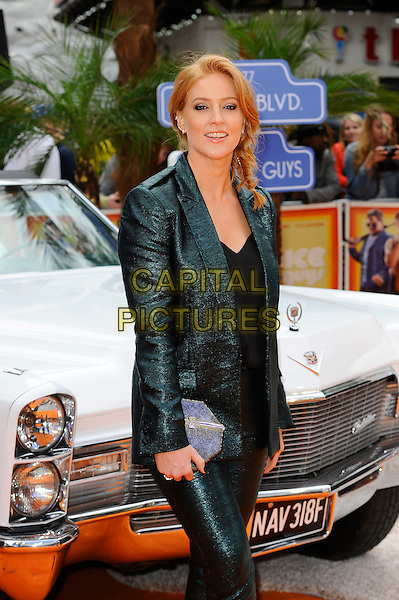 LONDON, ENGLAND - MAY 19: Sarah Jane-Mee attending 'The Nice Guys' UK Premiere at Odeon Cinema, Leicester Square in London. on May 19, 2016 in London, England.<br /> CAP/MAR<br /> &copy;MAR/Capital Pictures