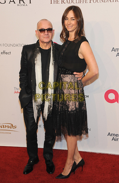 NEW YORK, NY - NOVEMBER 02: Bernie Taupin and Heather Taupin attends 15th Annual Elton John AIDS Foundation An Enduring Vision Benefit at Cipriani Wall Street on November 2, 2016 in New York City.<br /> CAP/MPI/JP<br /> &copy;JP/MPI/Capital Pictures
