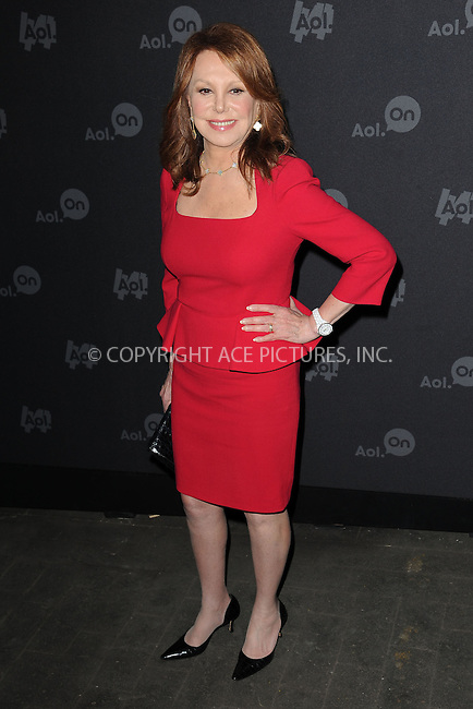 WWW.ACEPIXS.COM . . . . . .April 30, 2013...New York City....Marlo Thomas attends the AOL 2013 Digital Content NewFront on April 30, 2013 in New York City ....Please byline: KRISTIN CALLAHAN - ACEPIXS.COM.. . . . . . ..Ace Pictures, Inc: ..tel: (212) 243 8787 or (646) 769 0430..e-mail: info@acepixs.com..web: http://www.acepixs.com .