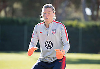 Faro, Portugal - January 14, 2019:  The USWNT trains during their January Camp in Portugal.