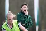 ALMERE - Hockey - Overgangsklasse competitie dames ALMERE- ROTTERDAM (0-0) .  Brian Vervoort, assistent coach R'dam.  COPYRIGHT KOEN SUYK