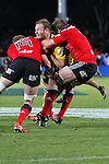 NELSON, NEW ZEALAND - MAY 29:   Round 16 Super Rugby match between the Crusaders and the Hurricanes at Trafalgar Park on May 29, 2015 in Nelson, New Zealand. (Photo by Marc Palmano/Shuttersport Limited)