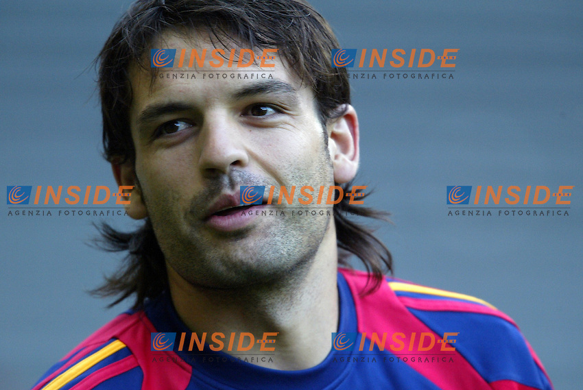 Genova 28/4/2004 <br /> Amichevole Italia Spagna 1-1 - Friendly match Italy - Spain 1-1. <br /> Fernando Morientes (Spain)<br /> Photo Andrea Staccioli / Insidefoto