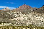 Mountain range, Abra Granada, Andes, northwestern Argentina