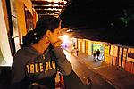 Street scenes.Salento, Colombia