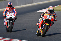 Montmelo' (Spagna) 10-06-2017 qualifiche Moto GP Spagna foto Luca Gambuti/Image Sport/Insidefoto<br /> nella foto: Dani Pedrosa-Danilo Petrucci