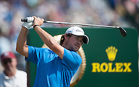20.07.2014. Hoylake, England. The Open Golf Championship, Final Round. Brian Harman [USA]from the tee