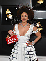 LOS ANGELES, CA - FEBRUARY 10: Joy Villa at the 61st Annual Grammy Awards at the Staples Center in Los Angeles, California on February 10, 2019. <br /> CAP/MPIFS<br /> &copy;MPIFS/Capital Pictures