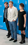 Director Benoit Jacquot and his productors promotes his film Diaryof a Chambermaid during the LXV Berlin film festival, Berlinale at Potsdamer Straße in Berlin on February 7, 2015. Samuel de Roman / Photocall3000 / Dyd fotografos-DYDPPA.
