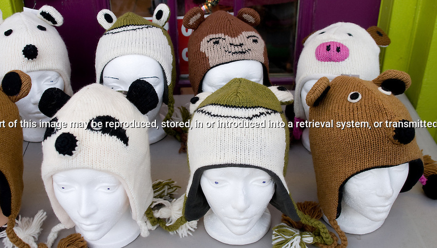 Mannequin heads with toques