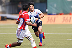 Keisuke Shin (JPN), <br /> AUGUST 30, 2018 - Rugby : <br /> Men's Group B match <br /> between Japan 92-0 Idonesia <br /> at Gelora Bung Karno Rugby Field <br /> during the 2018 Jakarta Palembang Asian Games <br /> in Jakartan, Idonesia. <br /> (Photo by Naoki Morita/AFLO SPORT)
