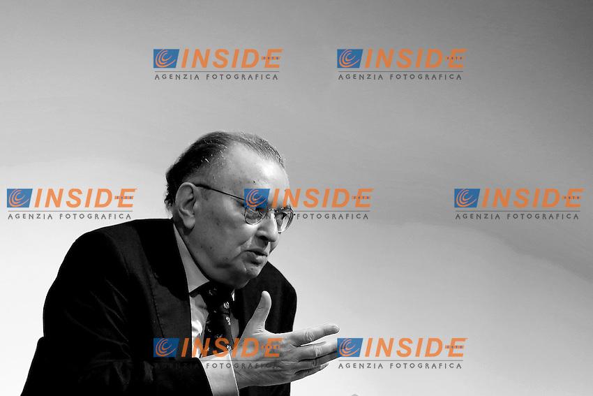 Giorgio Squinzi<br /> Roma 17-03-2015 Tempio di Adriano. Talk show di presentazione della manifestazione fieristica EMO MILANO 2015.<br /> Photo Samantha Zucchi Insidefoto