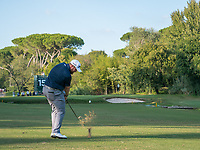 Shane Lowry (IRL) in action on the 15th hole during the second round of the 76 Open D'Italia, Olgiata Golf Club, Rome, Rome, Italy. 11/10/19.<br /> Picture Stefano Di Maria / Golffile.ie<br /> <br /> All photo usage must carry mandatory copyright credit (© Golffile | Stefano Di Maria)