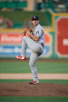 Peoria Chiefs pitcher Parker Kelly (35) during a Midwest League game against the Fort Wayne TinCaps on July 17, 2019 at Parkview Field in Fort Wayne, Indiana.  Fort Wayne defeated Peoria 6-2.  (Mike Janes/Four Seam Images)