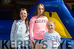 Enjoying the BALLYSEEDY Garden Centre Fun Weekend in aid of Downs Syndrome on Saturday were Siobhan Moriarty,Samantha Ziauberyte and Gretta Ziauberyte