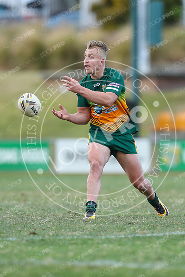 The Wyong Roos play Erina Eagles in Round 18 of the 1st Grade Central Coast Rugby League Division at Morry Breen Oval on 20 August, 2017 in Kanwal, NSW Australia. (Photo by Paul Barkley/LookPro)