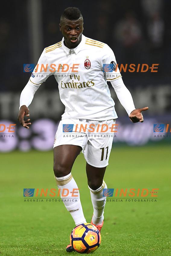 Genova 25-10-2016 Football Calcio  - campionato di calcio serie A / Genoa - Milan / foto Matteo Gribaudi/Image Sport/Insidefoto<br /> nella foto: M'Baye Niang