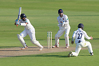 Cheteshwar Pujara in batting action for Yorkshire during Essex CCC vs Yorkshire CCC, Specsavers County Championship Division 1 Cricket at The Cloudfm County Ground on 4th May 2018