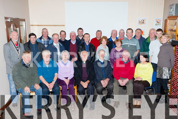 The Killarney Men's Shed held a special Rambling house for Fr Sean Myers Barleymount, Killarney who is home from his mission in Brazil  on Monday night