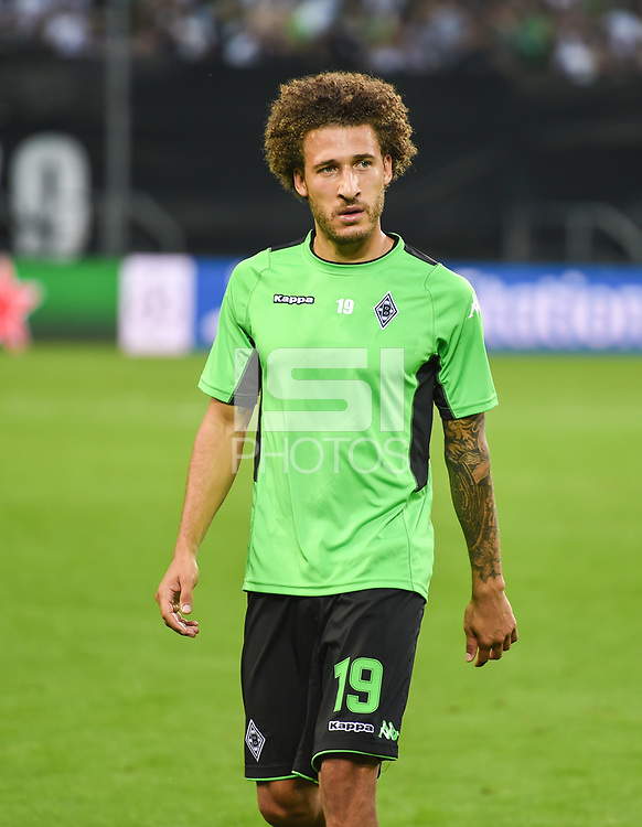 Football : Germany - Champions League: First Play-off-Round,  Game.<br /> Borussia Moenchengladbach vs BSC Young Boys<br /> 24/08/2016- Fabian Johnson (Borussia Moenchengladbach) .<br /> .