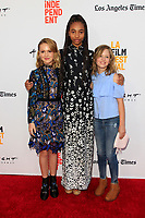 """LOS ANGELES - JUN 19:  Talitha Bateman, Tayler Buck, Lulu Wilson at the 2017 Los Angeles Film Festival - """"Annabelle: Creation"""" Premiere at the The Theatre at Ace Hotel on June 19, 2017 in Los Angeles, CA"""