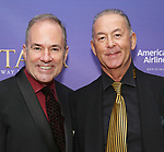 Stephen Flaherty and Trevor Hardwick attend Broadway Opening Night performance of 'Anastasia' at the Broadhurst Theatre on April 24, 2017 in New York City.