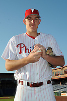 Feb 20, 2009; Clearwater, FL, USA; The Philadelphia Phillies pitcher Drew Naylor (63) during photoday at Bright House Field. Mandatory Credit: Tomasso De Rosa/ Four Seam Images