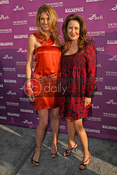 """Tricia Helfer and Mary McDonnell<br />at the Exclusive Celebration of """"Battlestar Galactica"""". Cinerama Dome, Hollywood, CA. 06-11-08<br />Dave Edwards/DailyCeleb.com 818-249-4998"""