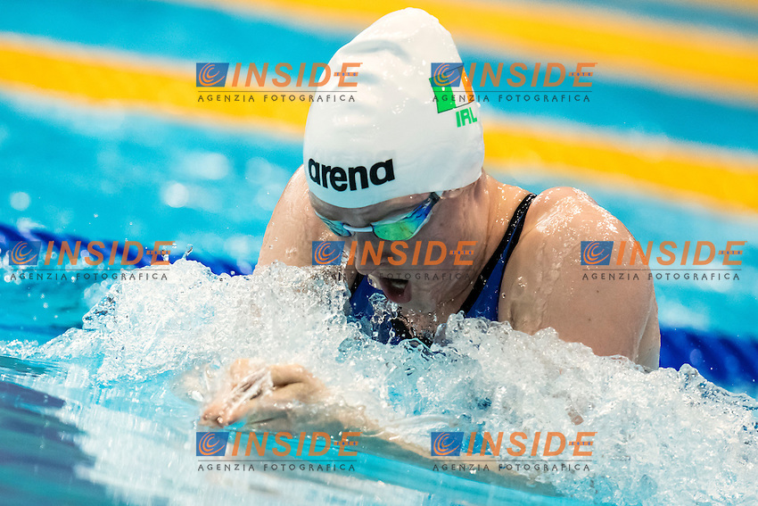 Fiona DOYLE IRL <br /> 200m Breaststroke Preliminary <br /> London, Queen Elizabeth II Olympic Park Pool <br /> LEN 2016 European Aquatics Elite Championships <br /> Swimming<br /> Day 11 19-05-2016<br /> Photo Andrea Staccioli/Deepbluemedia/Insidefoto