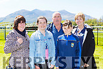 Mary Kissane, Ciara Casey, Mike Connor, Padraig Casey and Hannah O'Connor Beaufort at the Killarney Races on Sunday