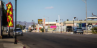 Historic Route 66 through Needles California.
