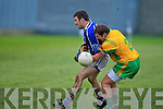 Kerins O'Rahilly's John O'Connor and Gneevguilla's Brendan Sheehan.