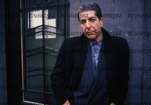 LEONARD COHEN - Belgium 1988<br /> .  Photo credit:  Goedefroit/Dalle/IconicPix **AVAILABLE FOR UK ONLY**