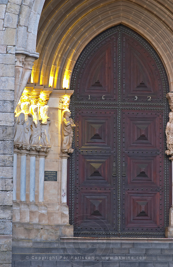 The Cathedral. Evora, Alentejo, Portugal