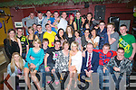 18TH: Mairead O'Mahony(seated 4th from right) who celebrated her 18th birthday with her family and friends in the Abbey Tavern, Ardfert on Saturday night................. . ............................... ..........