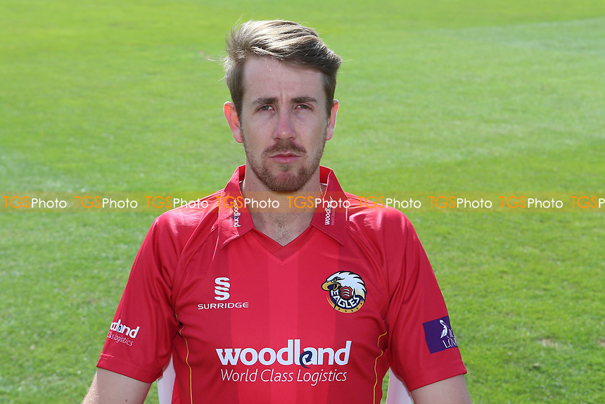 Matt Quinn of Essex in Royal London Cup kit during the Essex CCC Press Day at The Cloudfm County Ground on 5th April 2017