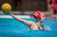 Stanford, CA; Friday May 8,2015  <br /> The Stanford Women's Water Polo team defeated visiting Princeton 7:2 in the quarter-final of the NCAA Championship at Avery Aquatic Center